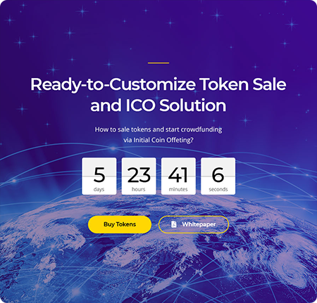 Advanced ICO Launching Countdown