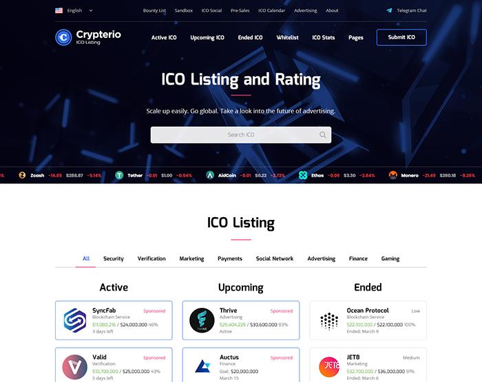 ICO Listing