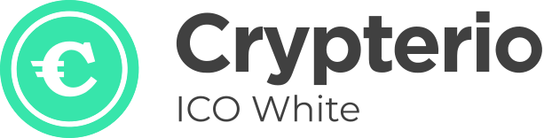 Crystal Clear ICO Landing Page Demo with White and Purple Colours